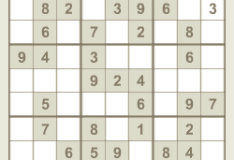 Игра Обыкновенное Судоку