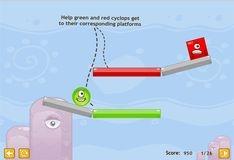 Игра Физика на глаз: набор уровней