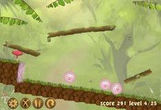 Игра Спасти пушистика: набор уровней