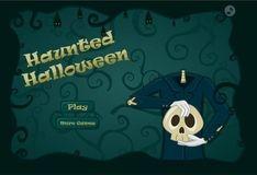 Игра Хэллоуин с привидениями