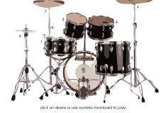 Соло на барабанах