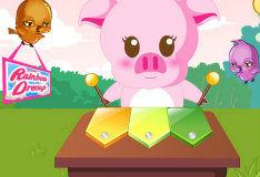 Игра Музыкальная свинка
