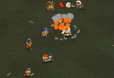 Игра Зомби против пиратов