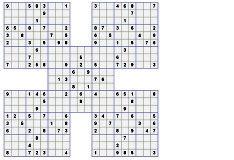 Игра Самурайское Судоку