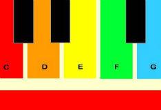 Игра Радужное пианино