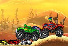 Игра Сумасшествие на грузовике