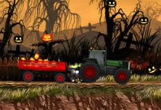 Игра Доставка тыкв на Хэллоуин