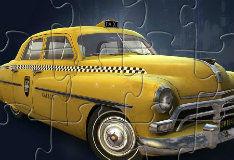 Игра Пазл мафиозное такси
