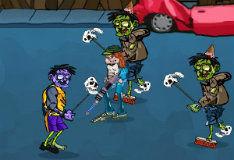 Игра Зомби-гангстеры