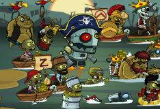 Игра Зомбудой 3: Пираты