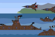 Игра Создай свой пиратский корабль