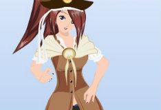 Игра Наряди-ка девушку пиратов