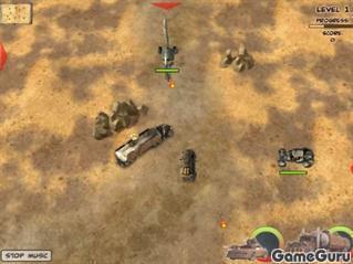 Перестрелка в пустыне