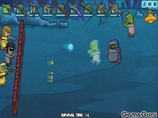 Игра Зомби апокалипсис!