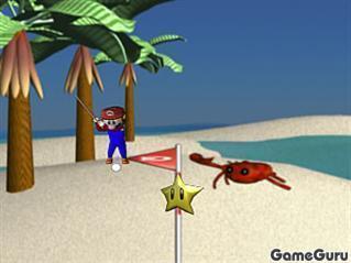 Игра Марио: пляжный гольф