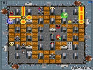 Игра На двоих: роботы бомберы