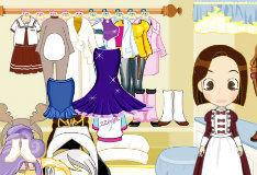 Игра Нарядное платье