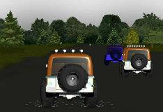 Игра Гонка на джипах 3D