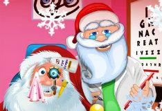 Игра Санта у окулиста