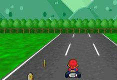 Игра Марио: Гонки на карте