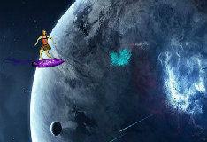 Виолетта в космосе