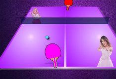 Игра Настольный теннис с Виолеттой и Людмилой