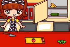 Игра Кафе-бургер: Готовь и создавай