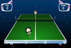 Пинг-понг с Гарфилдом