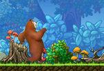 Играть бесплатно в Приключение медведя