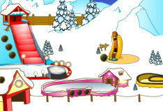 Игра Снежный парк