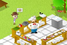 Игра Нелегкая работенка повара 3