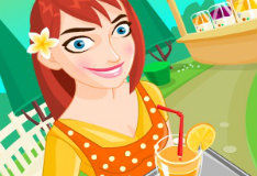 Игра Свежевыжатые соки от Джины