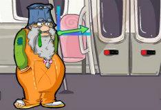 Игра Бомж в метро