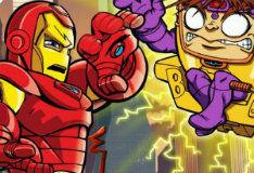 Игра Отряд супергероев: Поиск букв