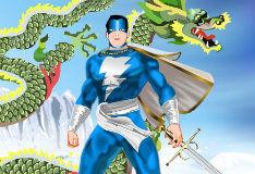 Игра Капитан Америка: Одевалка