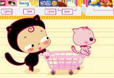 Игра С мамой за покупками