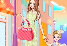 Игра По магазинам с мамой