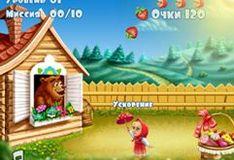 Игра Маша и Медведь: на пикник