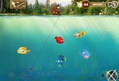 Игра Игра Маша и Медведь на рыбалке