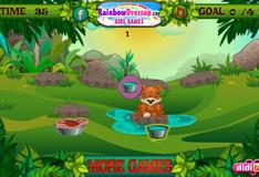 Игра накорми обитателей Джунглей