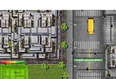 Игра Езда по городу на автобусе со сложным управлением