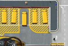 Игра Получи права для управления автобусом 3