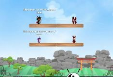 Игра Медведь Ниндзя