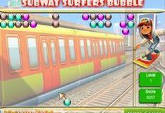 Игра Игра Собвей Серфер: цветные шарики