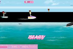Игра Лего Френдс: катание на водных лыжах