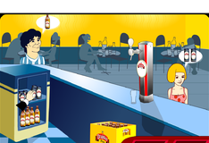 Игра Тяжелая жизнь бармена