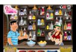 играйте в Девушка бармен