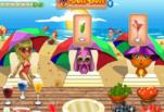 играйте в Лиза готовить коктейли в пляжном баре