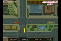 Игра Езда на автобусе по оживленным улицам