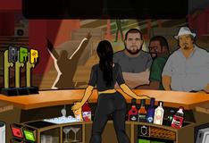Коктейли в латинском баре